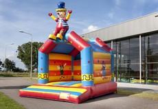 Château gonflable Clown